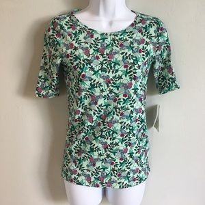 LuLaRoe Gigi Fitted Top XXS New with Tags